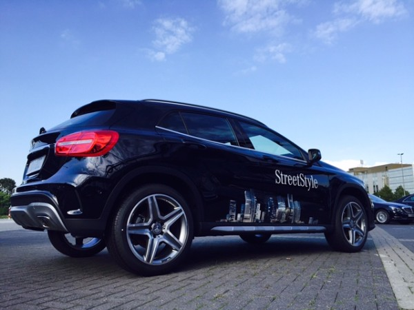 Präsentation der neuen SUV Generation bei Mercedes